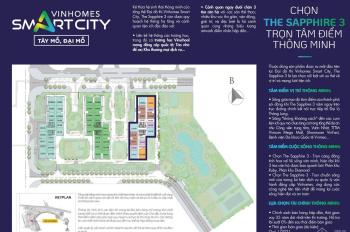 Chính chủ bán căn góc 2 mặt thoáng Shophouse Vinsmart City Đại Mỗ, DT 74m - 110m - 150m2