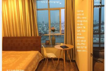 Căn hộ mini 1PN+ PK & bếp+ 1 phòng tắm +2 cửa sổ lớn view sông. CK 1 tháng tiền nhà cho HĐ 12 tháng