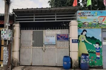 Nhà mặt tiền sát chợ Xóm Vắng, phường Dĩ An. Kinh doanh buôn bán