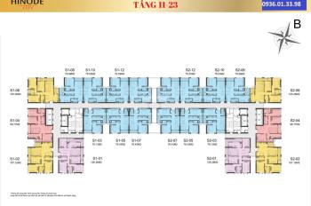 Hàng hiếm, bán gấp căn 3PN tòa S1,98m2, lô góc, giá chỉ 42tr/m2, T11 nhận nhà, MP 3 năm, CK 12%