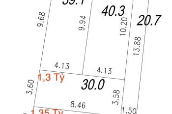 Bán đất chợ Chiều - Đại Mỗ, cách Quang Tiến 30m, DT 40.3m2, lô góc, giá 2,25 tỷ, LH 0984672007