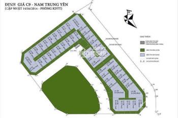 Bán shophouse mặt phố Mạc Thái Tông siêu đẹp, dự án C9 Nam Trung Yên. LH 0977164491