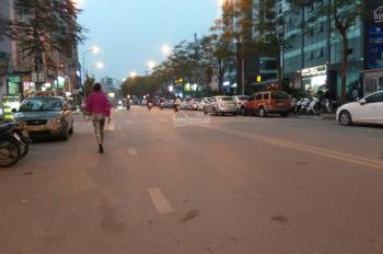 Bán nhà mặt phố Trần Thái Tông, DT 51m2 x 5 tầng. MT 5m, lô góc, KD sầm uất. Giá 21,5 tỷ