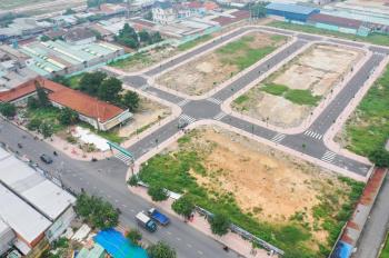 Đất mặt tiền chợ ngay ngã ba Thuận Giao, Thuận An, Bình Dương sổ hồng riêng. LH: 0974422234