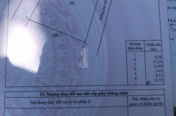 Đất vàng xã Đại Phước, Nhơn Trạch, 169m2 thổ cư, DT thực 200m2, hẻm 7m, mua ở hay đầu tư đều tốt cả