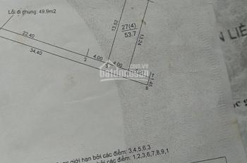 Cơ hội đầu tư bán 53.7 mét vuông đất sổ đỏ tại ấp Sáp Mai, xã Võng La