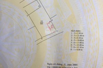 Bán đất 38m2, giá rất mềm 1.099 tỷ, Thôn Yên Viên, Làng Vân, xã Yên Viên