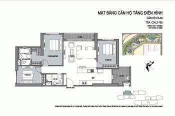 Bán gấp chung cư D'Capitale Trần Duy Hưng tòa C3 trung tâm dự án, căn góc. Giá 43 tr/m2