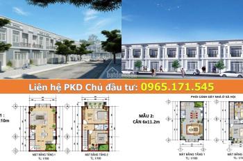 Bán nhà phố 1 trệt 1 lầu giá chỉ từ 1,1 tỷ/căn KDT Mekong City, Bình Minh, Vĩnh Long