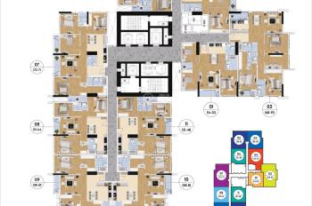 Bán lỗ 300tr CHCC Goldmark City, căn 1616 R2 84m2 và 1506 - R1 121m2, 25tr/m2. LH 0966292726