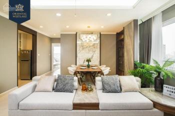 Căn hộ cao cấp sát cạnh Hồ Tây, căn 88m2, tầng 15 giá 3.5 tỷ, đủ đồ, nhận nhà ở ngay
