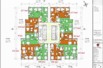 CC bán cắt lỗ 200tr CHCC FLC Twin Tower Cầu Giấy 1506 - 100m2, 1210 - 127.4m2, 32tr/m2, 0966292726