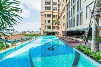 Cho thuê căn hộ cao cấp The Tresor, 32m2/13tr/tháng, full nội thất, bao phí QL