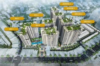 Gia đình tôi bán căn hộ Hado Centrosa 2 PN, DT 107m2, tòa j2 tầng cao giá 6.3 tỷ