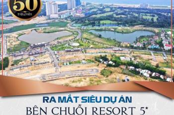 Mở bán GĐ1 đất nền gần Fusion Villa Đà Nẵng mặt sông Hàn nối dài, sổ đỏ lâu dài, giá từ 2.5 tỷ/lô