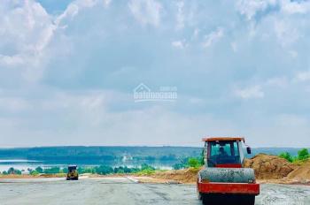 Đất Bình Dương giá chỉ 600 tr/nền, mặt tiền đường 32m, đối diện hồ sinh thái, sát bên KCN