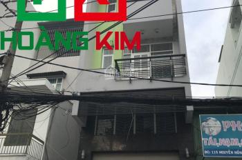 Cho thuê nhà mới MT Nguyễn hồng Đào, P. 14, 1T 2L, 4.5x20m, HK
