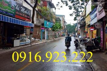 Tôi cần bán đất 54m2 mặt phố Hà Trì - khu Hưu Trí gần SVĐ Hà Đông, kinh doanh cực tốt. Giá 95tr/1m2