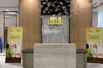 Bán CH Sài Gòn Mia 2PN, 2WC full NT cam kết giá rẻ nhất thị trường, nhà mới 100% Lh 0934 21 21 77
