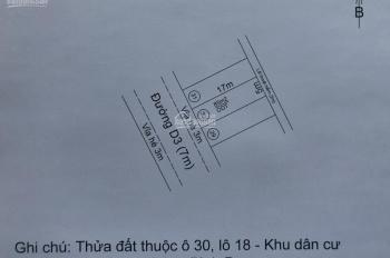 Bán đất trung tâm thị xã Dĩ An, Bình Dương giá đầu tư chỉ 11.5tr/m2