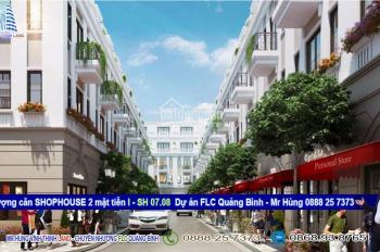 Chính chủ nhượng căn shophouse 2 mặt phố Ish 07.08, FLC Quảng Bình