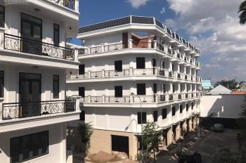 Bán nhà đường Hà Huy Giáp 1 trệt 4 lầu, thích hợp mở văn phòng, nhà nghỉ, liên hệ: 0903056457