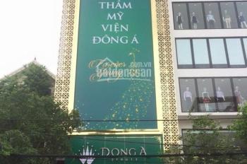 Cho thuê tòa nhà mới xây phố Trần Nhân Tông, 90m2 x 8 tầng, mặt tiền 8m. LH: Phong 0974433383