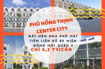 Mở bán dự án Hồng Thịnh Center City mặt tiền bến xe Miền Đông mới Q.9 giá 2,1 tỷ. 0961414668