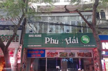 Hot, cho thuê nhà mặt phố 50 Lê Văn Thiêm, Thanh Xuân, DT 105m2x4T, mặt tiền 7m, cho làm hàng ăn