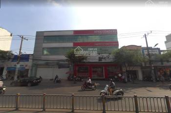 Cho thuê tòa nhà 2 mặt tiền đường Trường Chinh, diện tích: 20x25m, kết cấu trệt 3 lầu