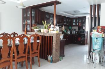 Cho thuê nhà An Phú An Khánh, DT 8x20m, 1 hầm, 3 lầu, 8 phòng, thang máy, giá 42 triệu