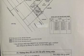 (Tin vip) Bán nhà mặt tiền đường An Phú Đông 9. DT 6.25x15m=94.3m2, giá 6.3 tỷ, đường 12m, QH 20m