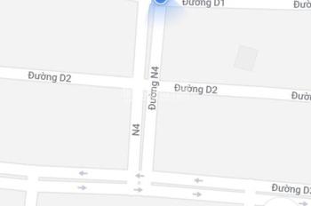Bán nền góc 2 mặt tiền đường D1 và N4 KDC Mekong City Bình Minh, Vĩnh Long DT 7x25m, giá 3.3 tỷ