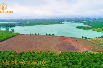 Đất biệt thự hồ Lộc Thanh, Bảo Lộc -(500 - 700m2) giá 980tr LH 0919.174.279 (Trần Lân)