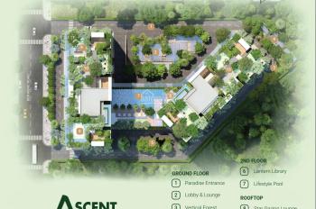 Căn 2 PN view sông Ascent Garden Homes, liên hệ sale Chủ đầu tư: 0931 304 931 (Long)