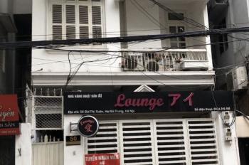 Chính chủ cho thuê nhà mặt phố Bùi Thị Xuân, Hai Bà Trưng, vị trí siêu đẹp 72m2x3 tầng, mặt tiền 5m