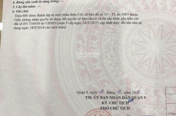 Tôi bán đất cầu Xây Dựng, 61.4m2, Nguyễn Duy Trinh, giáp Quận 2. Hướng Đông 0932 282 565