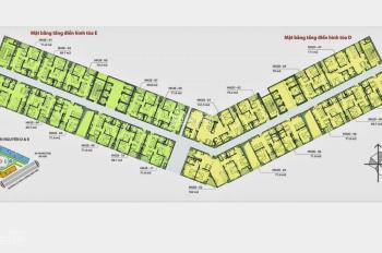 Cần tiền bán gấp căn hộ chung cư HH2 Dương Nội 69m2 tk 2pn-2wc giá 930tr