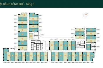 Mở bán căn hộ officetel gần công viên Hoàng Văn Thụ giá 1,7 tỷ/căn