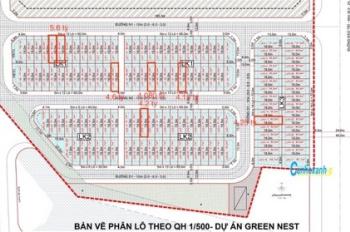 Chính chủ cần bán gấp đất Green Nest Khải Vy lô shophouse MT Đào Trí giá đầu tư 8 tỷ.LH: 0909519399