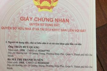 Bán đất nền thổ cư trong KDC Nam Khang, đường Nguyễn Duy Trinh, Q9