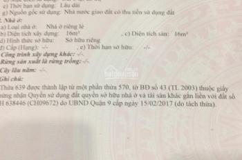Chính chủ bán lô đất Centana Trường Lưu, 57m2, giá 2.5 tỷ, sổ hồng, xây tự do, LH 0938.669.182