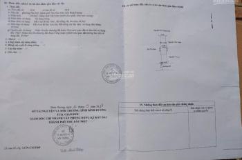 Bán đất thổ cư 5x24m MT đường DX 008 Phú Mỹ, Thủ Dầu Một, hướng Nam, giá rẻ 2 tỷ 90 triệu