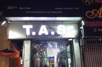 Bán nhà mặt phố Bạch Mai, 2 mặt thoáng, nở hậu kinh doanh có lộc, chính chủ rao bán, 0982756875