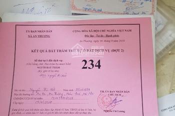 Chính chủ cần bán gấp lô đất dịch vụ tại xã An Thượng, huyện Hoài Đức, Hà Nội, LH: 0933331222