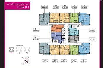 Bán căn hộ The K Park giá siêu rẻ (bao gồm full nội thất). LH 0975.392.318
