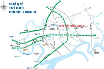 Bán đất Q9, Trí Kiệt Khang Điền, DT 7x16m, view sông, 45tr/m2 (bao VAT), LH 0949766228 Mr Hải