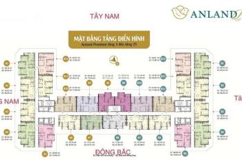 Bán căn hộ 3 pn chung cư Anland - Nam Cường Dương Nội, diện tích 79m2, giá 1,9tỷ. LH: 0948000908