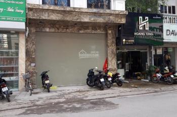 Johnny Mạnh cho thuê nhà mặt phố Phạm Ngọc Thạch 80m2, 5 tầng đẹp nhất phố 0914739966