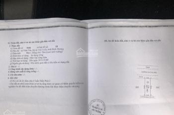 Chủ cần bán gấp đất Vĩnh Tân, Tân Uyên thổ cư 100%